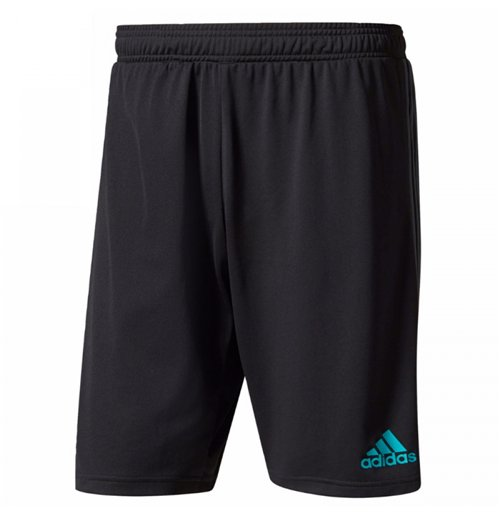 2017-2018 Real Madrid Adidas Training Shorts (Black)
