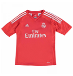 2017-2018 Real Madrid Adidas Away Goalkeeper Shirt (Kids)