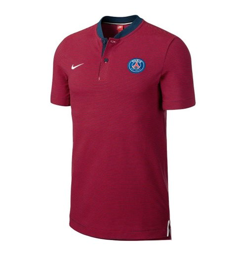 2017-2018 PSG Nike Authentic League Polo Shirt (Navy)