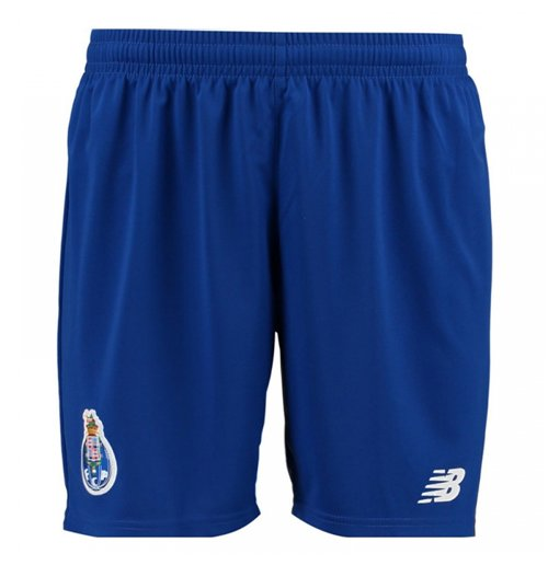 2017-2018 Porto Home Shorts (Blue)