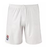 2017-2018 Olympique Lyon Adidas Home Shorts (White)
