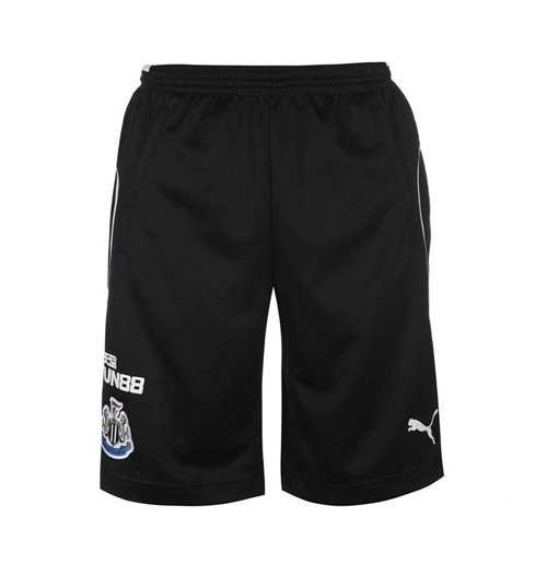 2017-2018 Newcastle Puma Training Shorts (Black)