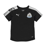 2017-2018 Newcastle Puma Training Shirt (Black) - Kids