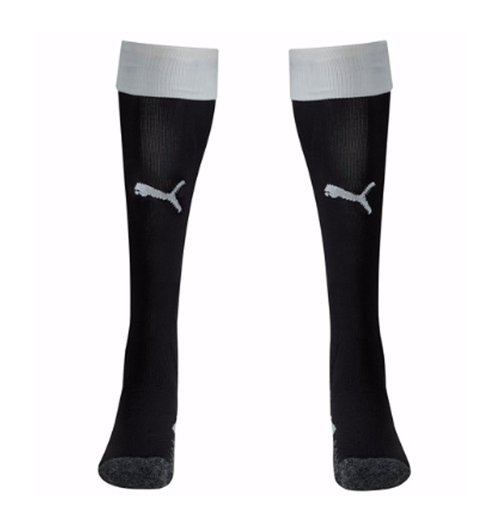 2017-2018 Newcastle Home Football Socks (Black)