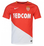 2017-2018 Monaco Home Nike Football Shirt