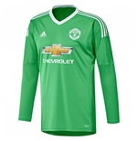 2017-2018 Man Utd Adidas Away Goalkeeper Shirt