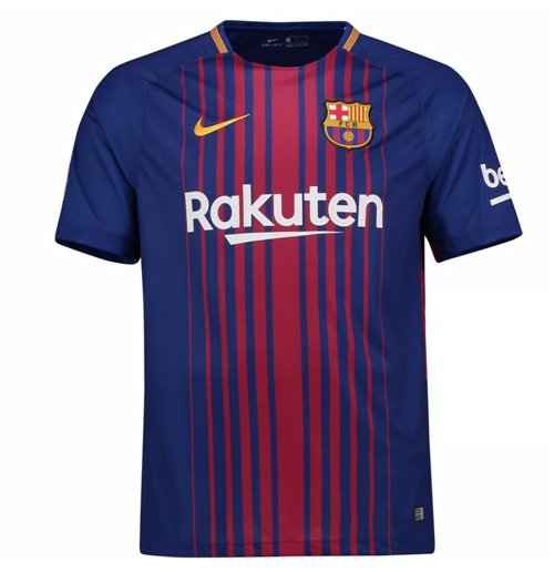 2017-2018 Barcelona Home Nike Football Shirt