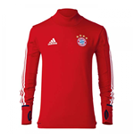 2017-2018 Bayern Munich Adidas Training Top (Red) - Kids