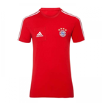 2017-2018 Bayern Munich Adidas Training Tee (Red)