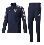 2017-2018 Bayern Munich Adidas Training Suit (Navy)