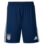 2017-2018 Bayern Munich Adidas Training Shorts (Navy)