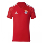 2017-2018 Bayern Munich Adidas Training Shirt (Red)