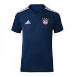2017-2018 Bayern Munich Adidas Training Shirt (Navy) - Kids