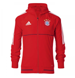 2017-2018 Bayern Munich Adidas Presentation Jacket (Red)