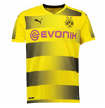 2017-2018 Borussia Dortmund Puma Home Football Shirt