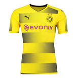 2017-2018 Borussia Dortmund Puma Authentic Home Football Shirt