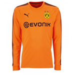 2017-2018 Borussia Dortmund Away Goalkeeper Shirt Orange