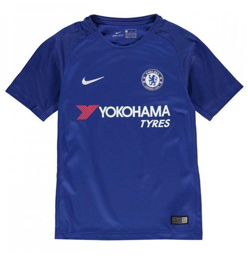 2017-2018 Chelsea Home Nike Football Shirt (Kids)