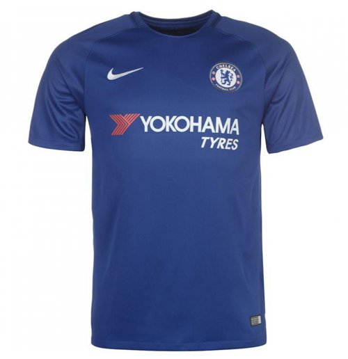 2017-2018 Chelsea Home Nike Football Shirt