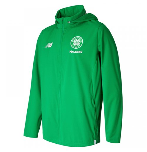 2017-2018 Celtic Elite Training Rainjacket (Green)