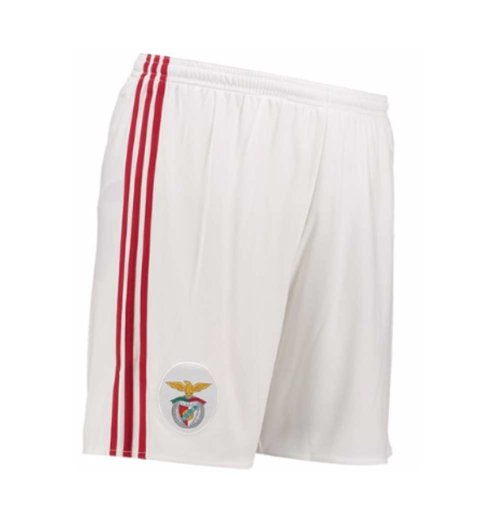 2017-2018 Benfica Adidas Home Shorts (White) - Kids