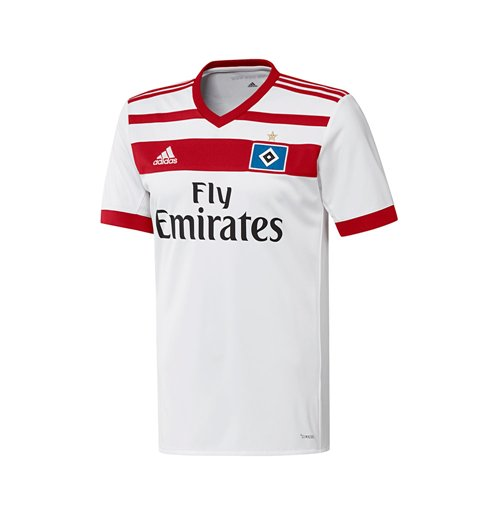 2017-2018 Hamburg Adidas Home Shirt (Kids)