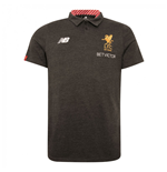 2017-2018 Liverpool Media Motion Polo Shirt (Black)
