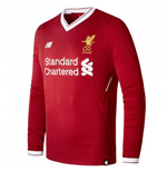 2017-2018 Liverpool Home Long Sleeve Shirt