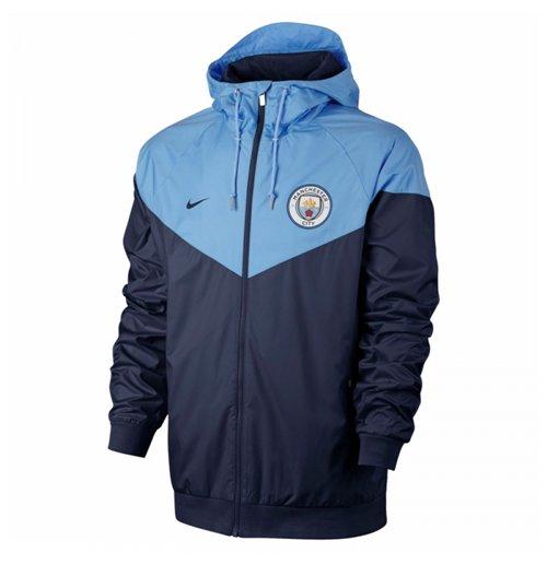 Buy 2017-2018 Man City Nike Authentic Windrunner Jacket (Navy) fecdaa31b
