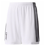 2017-2018 Juventus Adidas Home Shorts (White)