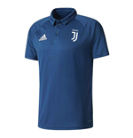 2017-2018 Juventus Adidas Polo Shirt (Blue Night)