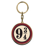 Harry Potter Metal Keychain Platform 9 3/4 5 cm