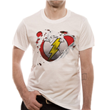 The Flash - Torn Logo - Unisex T-shirt White