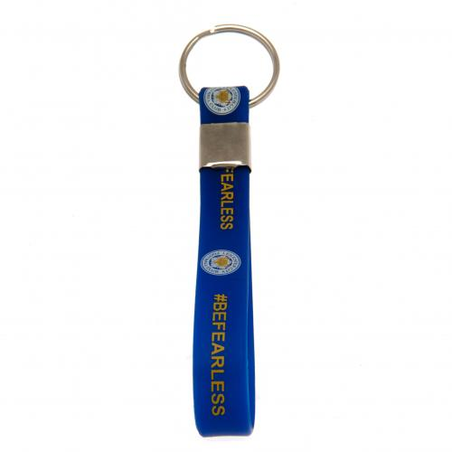 Leicester City F.C. Silicone Keyring