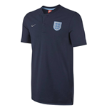 2017-2018 England Nike Authentic GS Slim Polo Shirt (Navy)