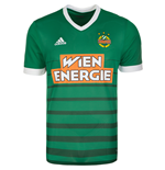 2017-2018 Rapid Vienna Adidas Home Football Shirt