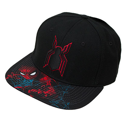 SPIDERMAN Black Homecoming Snapback Hat