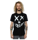 Suicide Squad Men's Skull Face Tee Black