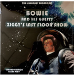 Vynil David Bowie And His Guests - Ziggys Last Floor Show - The Legendary Brodcast - Clear Vinyl