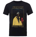 Snoop Dogg Men's Tee: Microphone