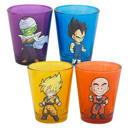 Dragonball Z Shot Glass Set