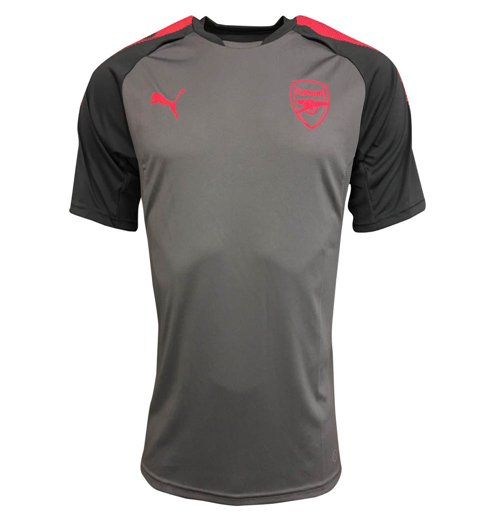 2017-2018 Arsenal Puma Training Jersey (Steel Grey)