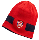 2017-2018 Arsenal Puma Reversible Performance Beanie (Red-Navy)