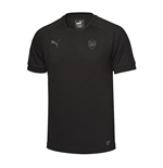 2017-2018 Arsenal Puma Casual Performance Tee (Black)