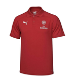 2017-2018 Arsenal Puma Casual Performance Polo Shirt (Chilli Pepper) - Kids