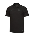 2017-2018 Arsenal Puma Casual Performance Polo Shirt (Black)