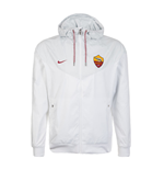 2017-2018 AS Roma Nike Authentic Windrunner Jacket (White)