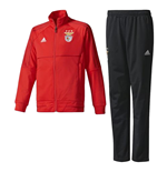 2017-2018 Benfica Adidas PES Tracksuit (Red)