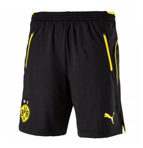 2017-2018 Borussia Dortmund Puma Training Shorts (Black)