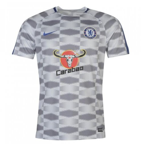 2017-2018 Chelsea Nike Pre-Match Training Shirt (White)